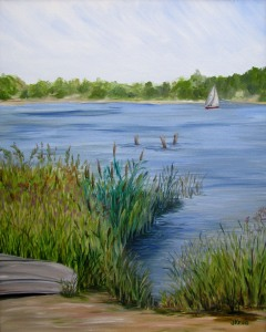 """Sweet Retreat"" Oil on canvas 16x20"