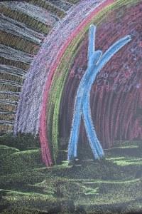 chalk during worship