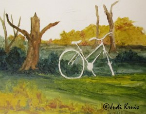 bicycle in process